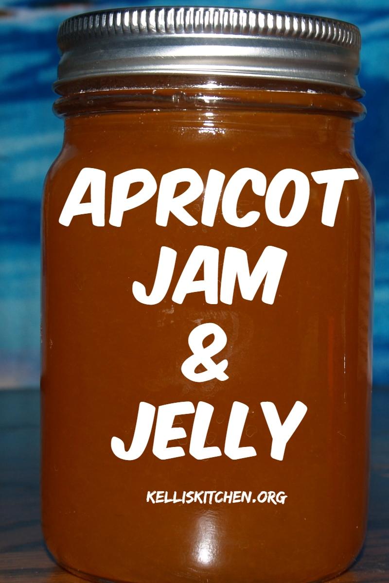 Apricot Jam and Jelly via @KitchenKelli