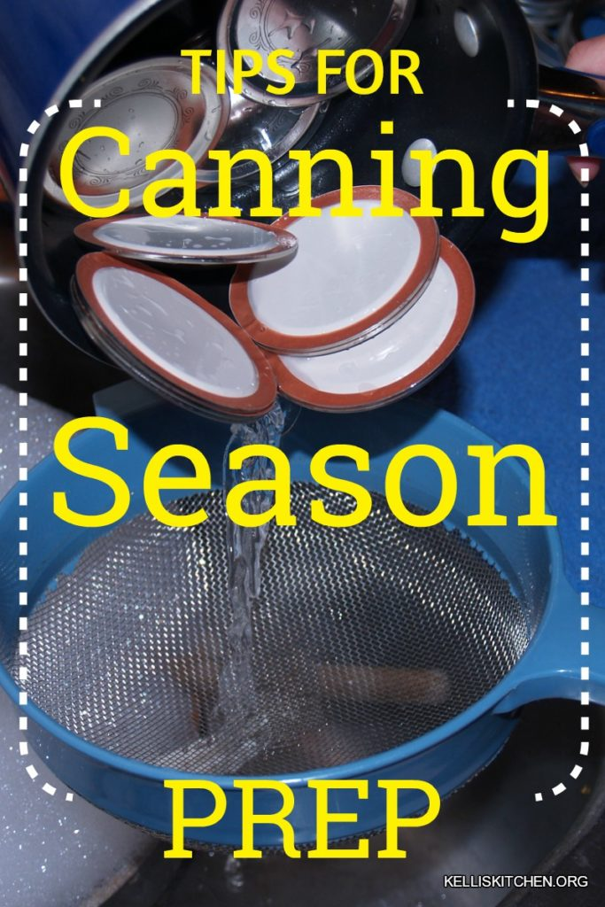 How to prepare for canning season- January, February, and March are the greatest months to get ready for the upcoming canning season within most of the United States.
