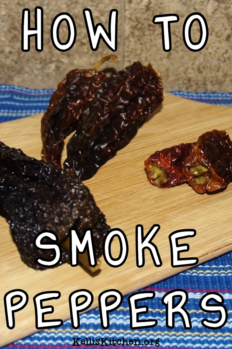 HOW TO SMOKE PEPPERS via @KitchenKelli