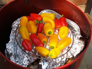 How to Smoke Peppers the Easy Way!
