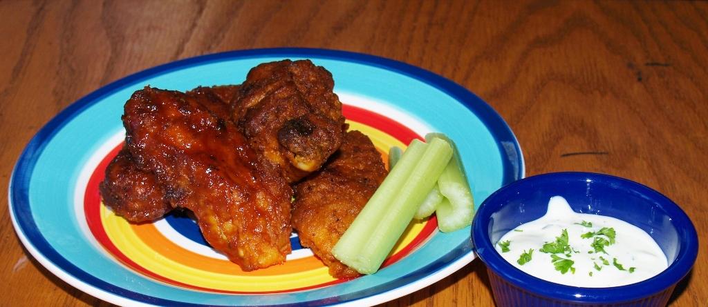 Restaurant Style Wings - Kellis Kitchen