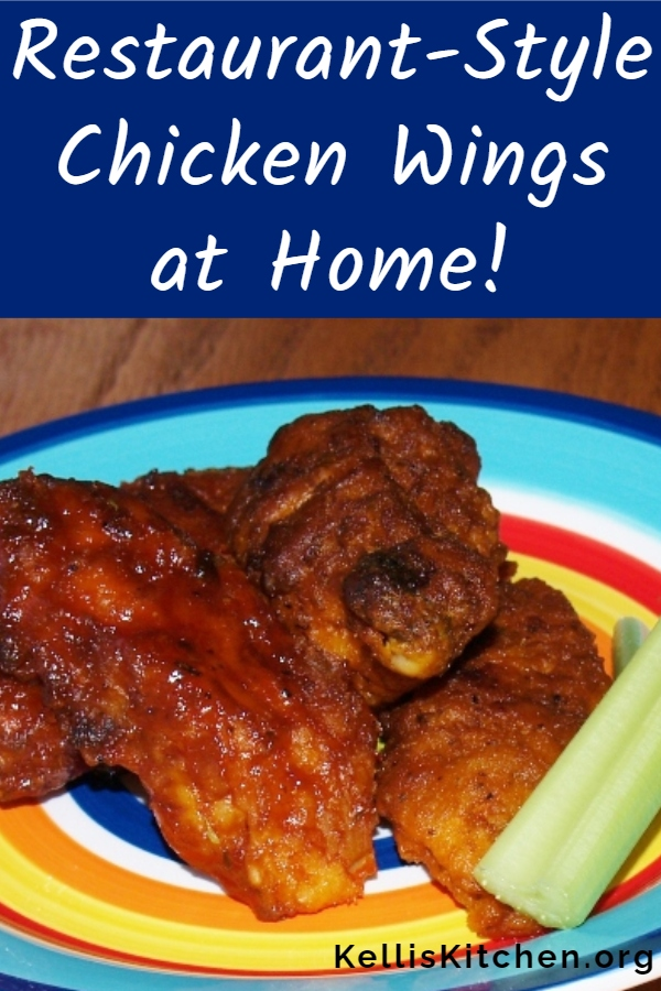 Restaurant-Style Chicken Wings at Home! via @KitchenKelli