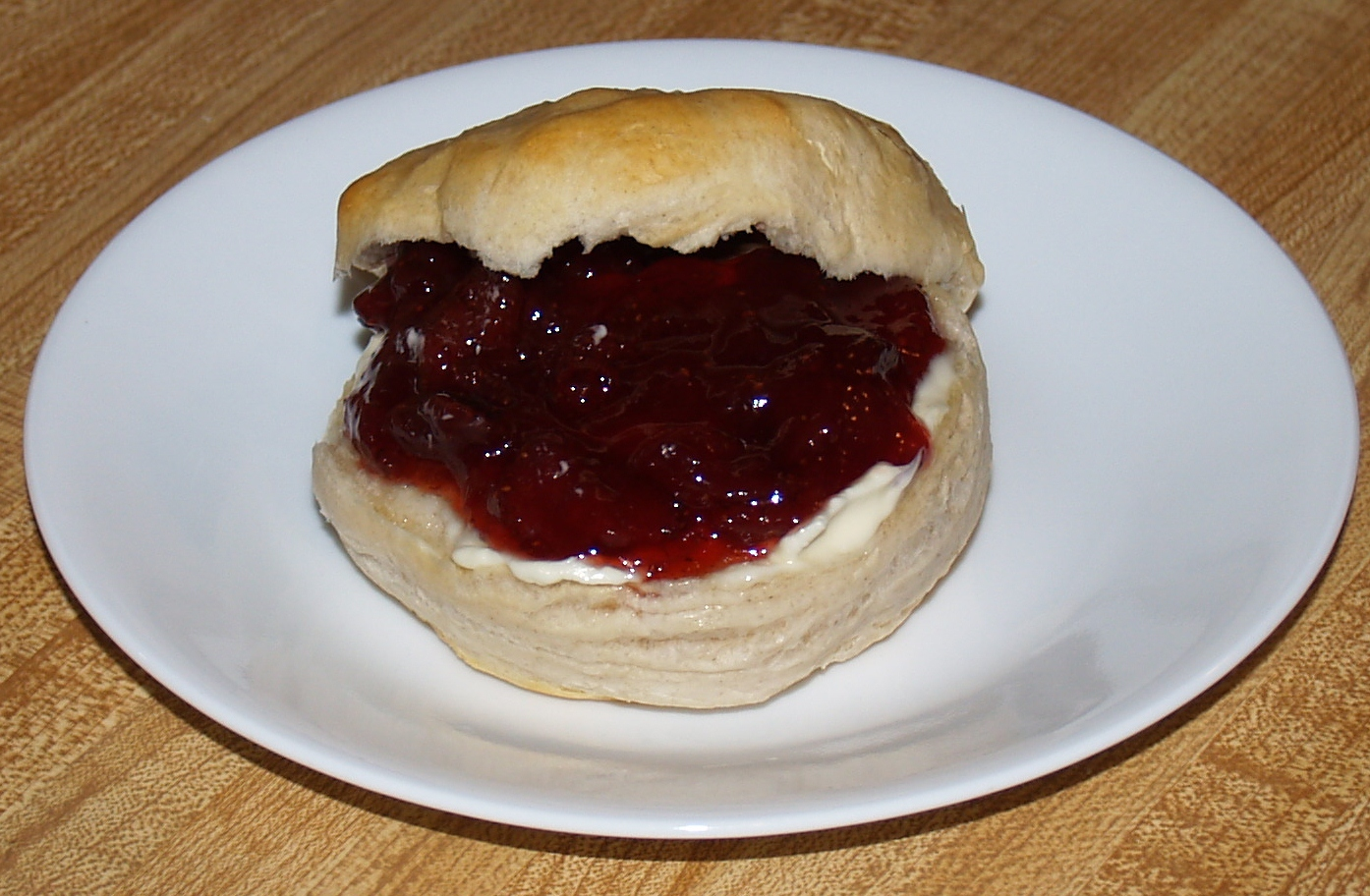 Strawberry Jam...It's What's for Breakfast!