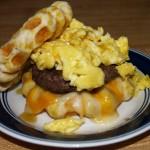 3 Biscuit Waffle Breakfasts