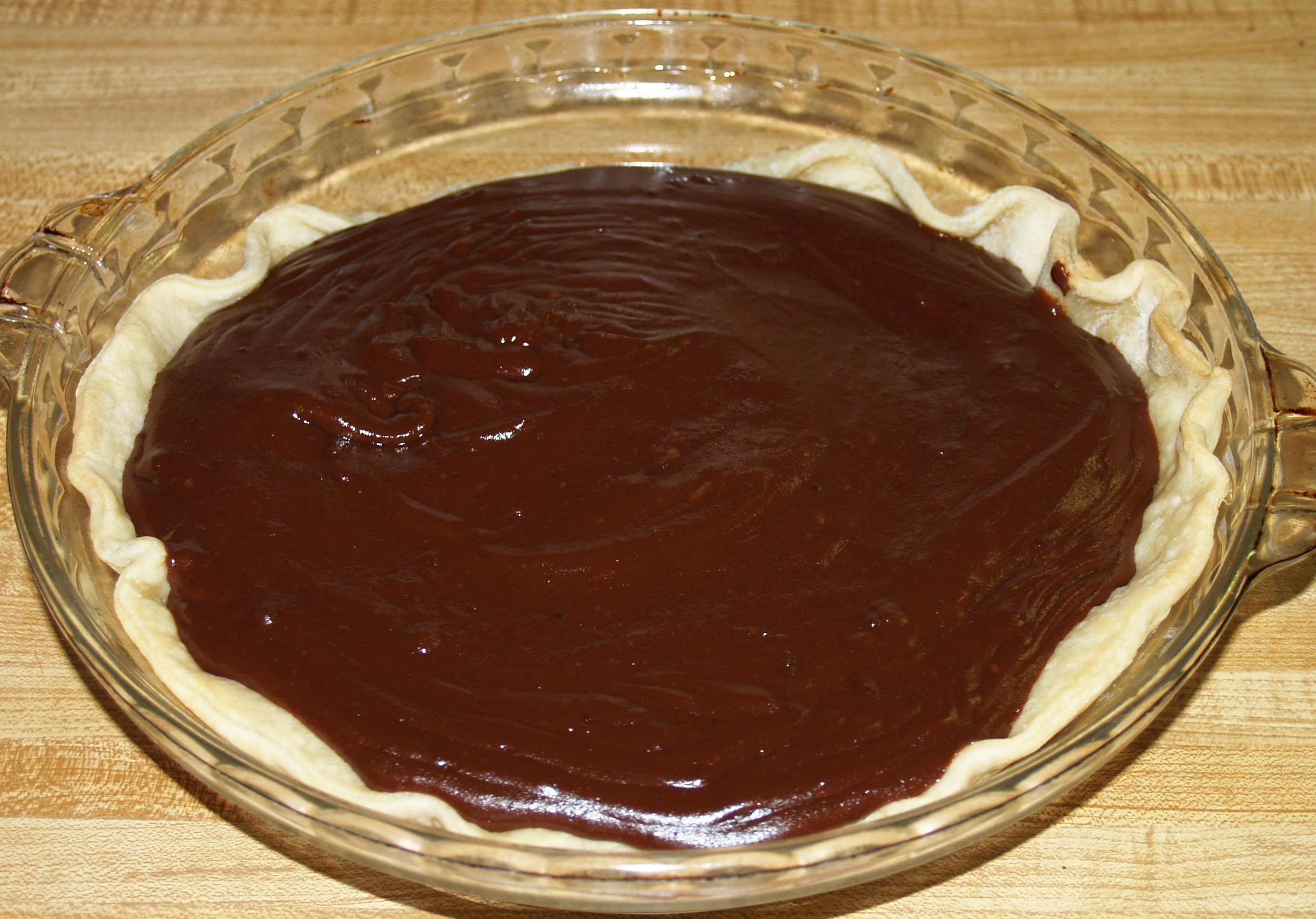 Chocolate Pie from Kelli's Kitchen