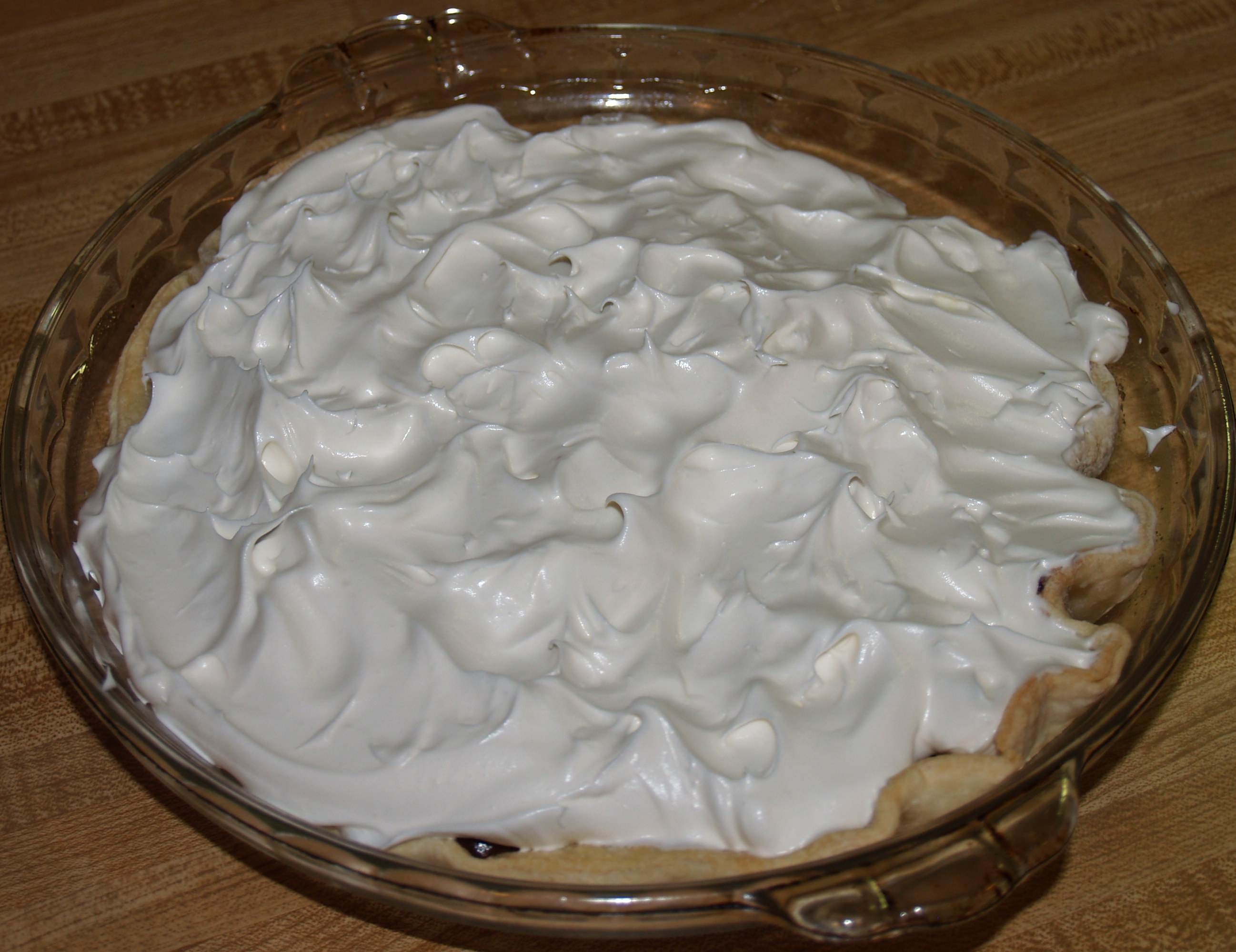 Chocolate Pie with Dream Whip from Kelli's Kitchen
