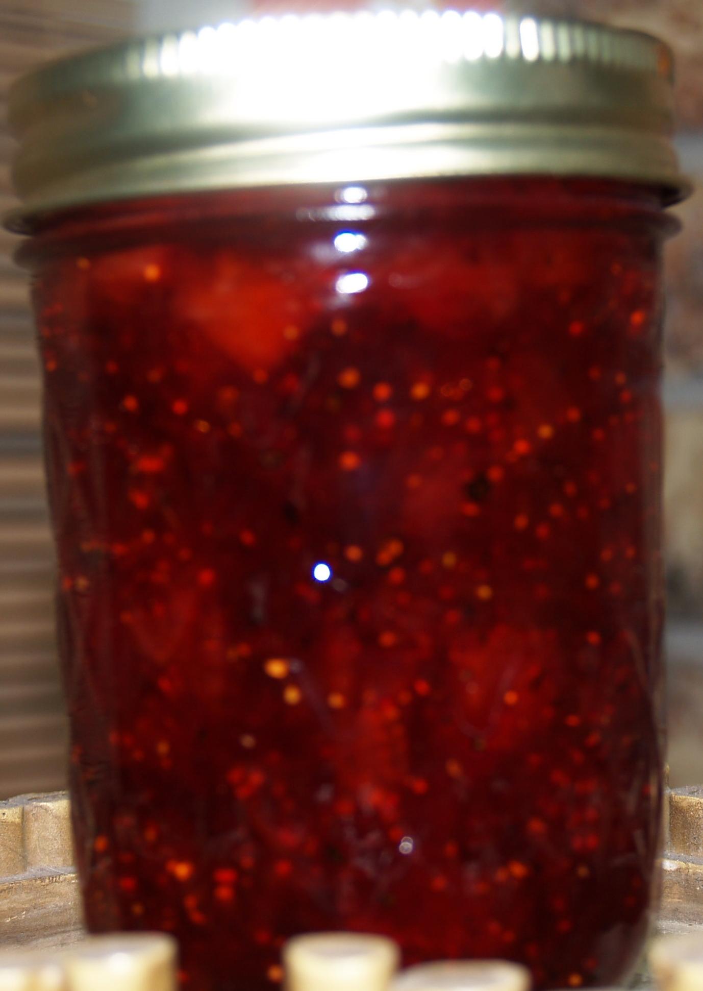 Strawberry, Balsamic Vinegar & Black Pepper Jam - Kelli's Kitchen