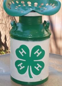 Repurpose Milk Can - 4H