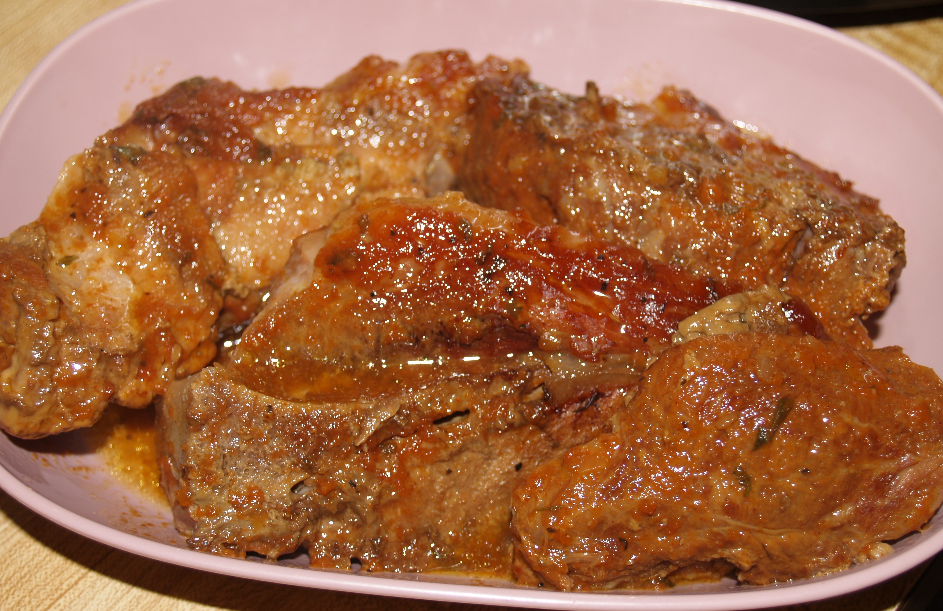 Slow Cooker Country Ribs from Kelli's Kitchen