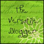 Versatile Blogger Award Thank You