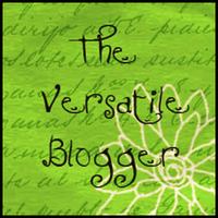 Versatile Blogger Award Thank You