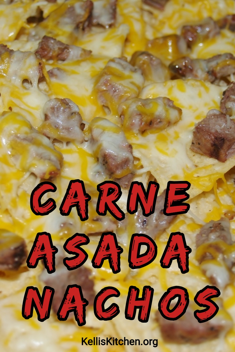 CARNE ASADA NACHOS via @KitchenKelli