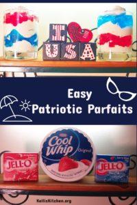 Easy Patriotic Parfaits
