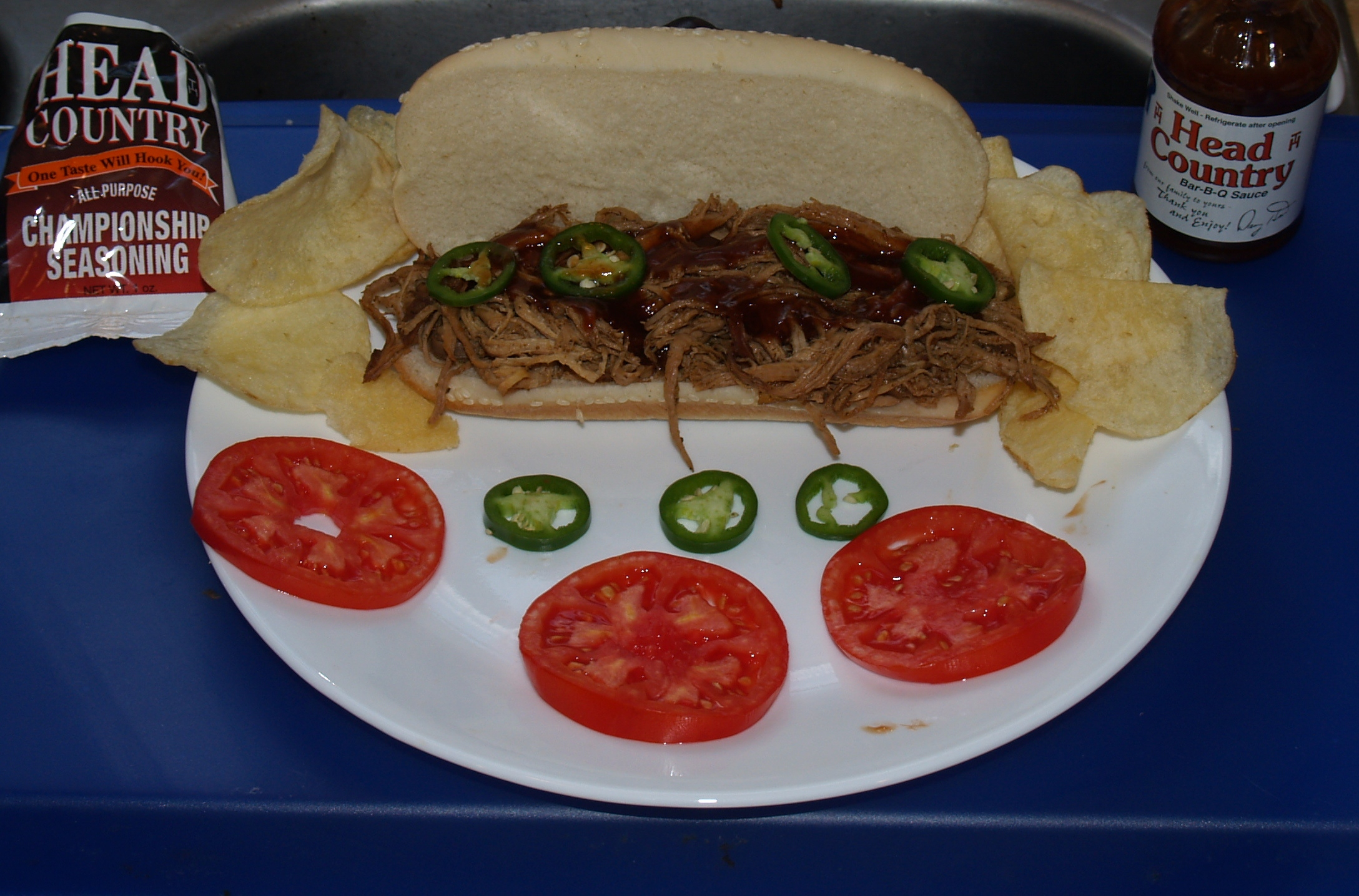 Pulled Pork Sandwiches from Kelli's Kitchen