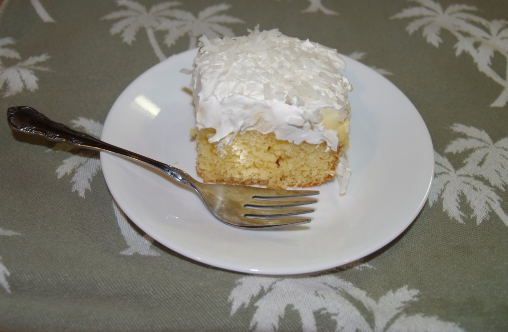 Pina Colada Poke Cake from Kelli's Kitchen