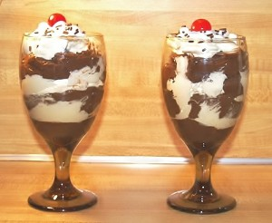 Kickin' It Cold-School: Cold Salad & Pudding Parfait