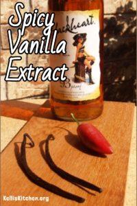Spicy Vanilla Extract