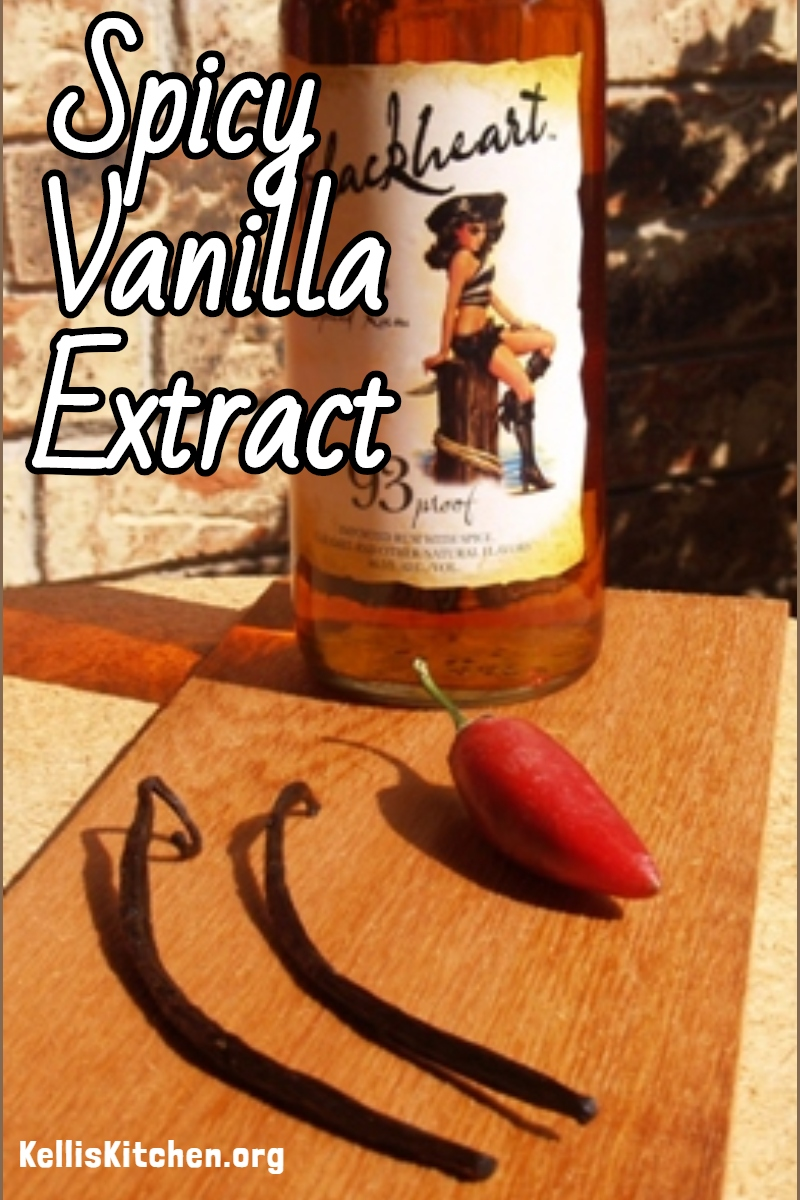 Spicy Vanilla Extract via @KitchenKelli