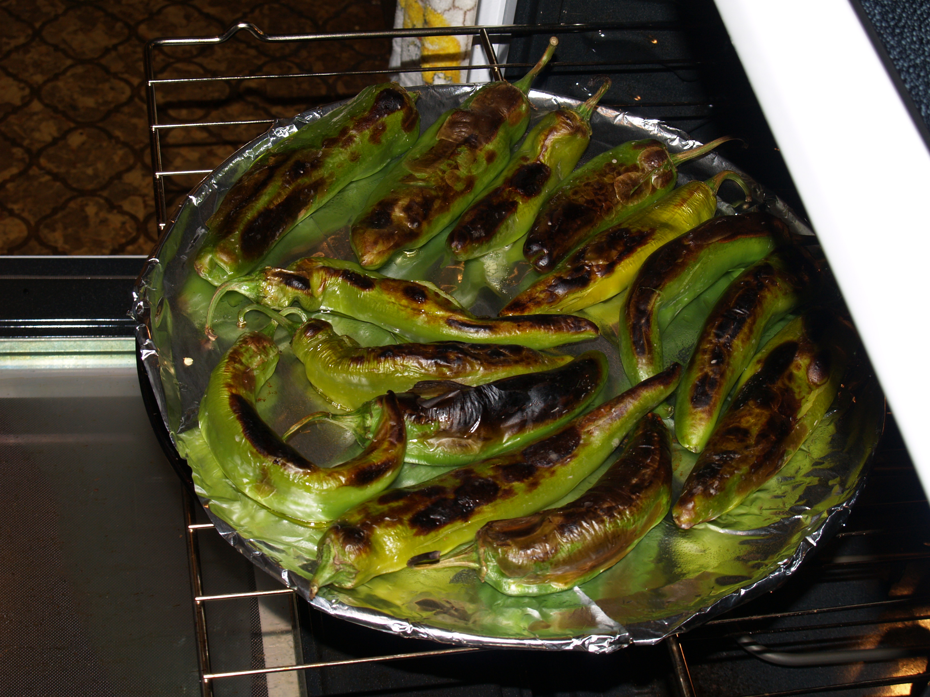 ABC's of Roasting Green Chilies