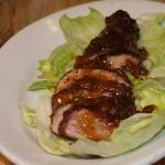 Pork Loin with Peach Glaze