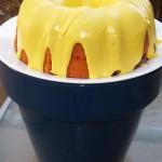 Strawberry Bundt Cake with Lemon Icing