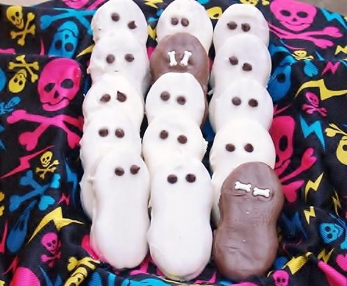 Halloween Ghosties from Kelli's Kitchen