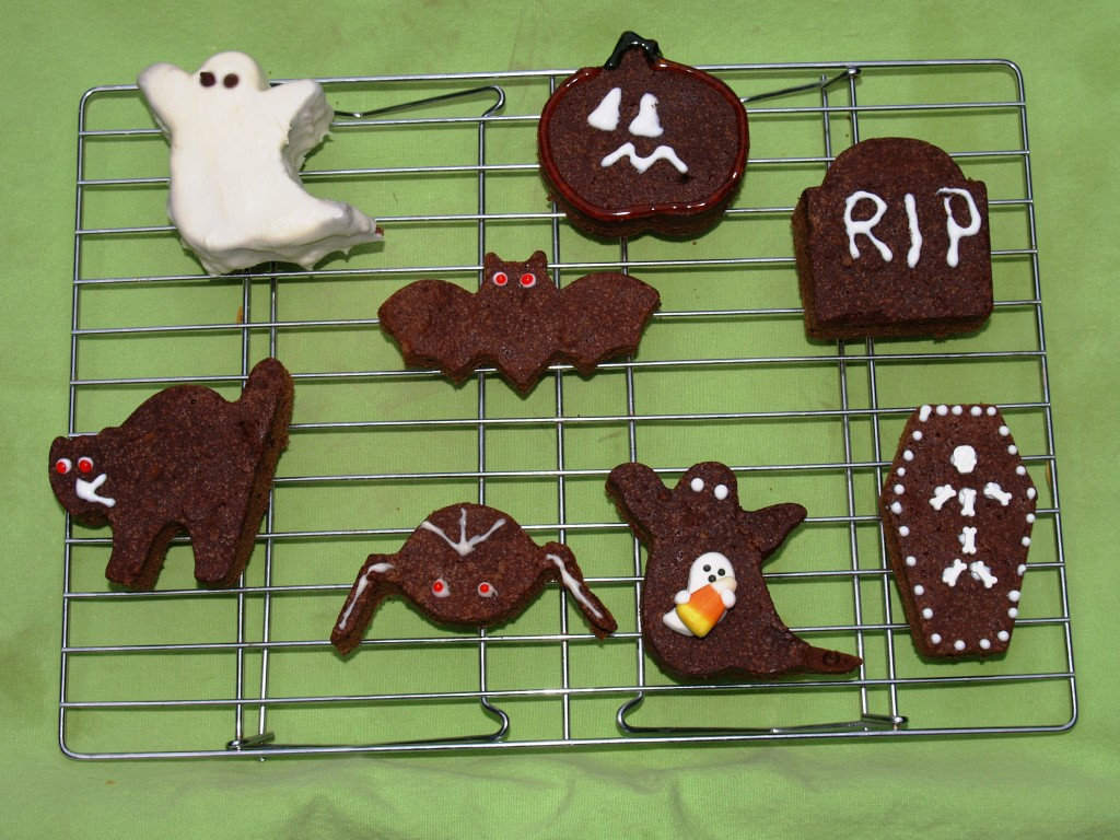 Halloween Brownie Treats