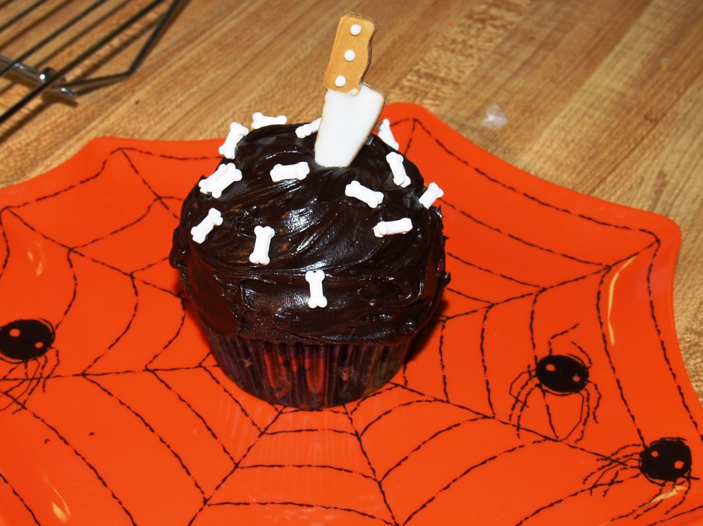 Super Easy Halloween Cupcakes from Kelli's Kitchen