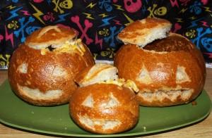 Halloween Bread Bowls