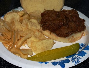 Pork Steak Sandwiches from Kelli's Kitchen
