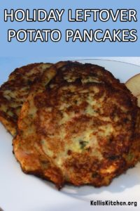 HOLIDAY LEFTOVER POTATO PANCAKES