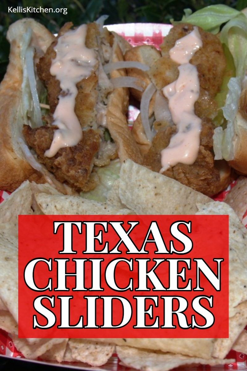 TEXAS CHICKEN SLIDERS via @KitchenKelli