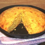 Cheesy Bacon Cornbread