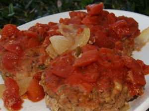 Crock Pot Swiss Meatloaf Patties