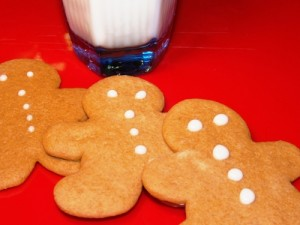 A Kinder Gentler Gingerbread Man Cookie