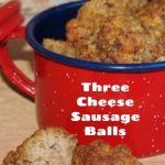 Three Cheese Sausage Balls