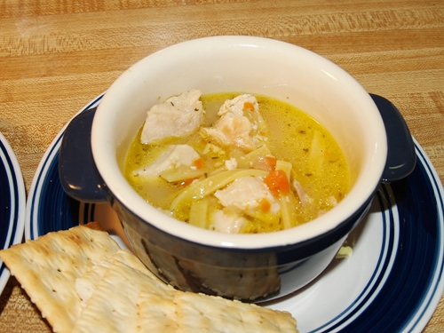 Warm Comforting Chicken Noodle Soup