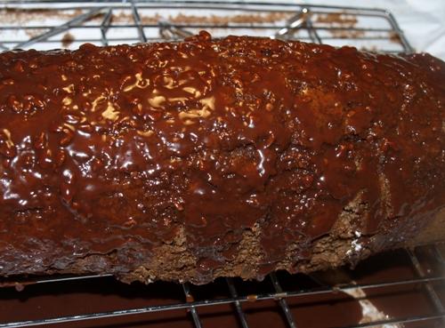 Homemade Little Debbie Swiss Roll Cake