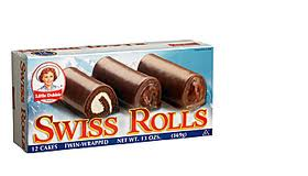 Swiss Roll - Little Debbie box