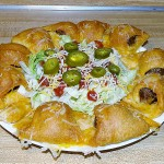 Taco Meatball Wreath Appetizers or a Meal