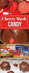 Homemade Cherry Mash Candy