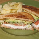 Bison Witches: Avocado, Cream Cheese, and Tomato Toasty