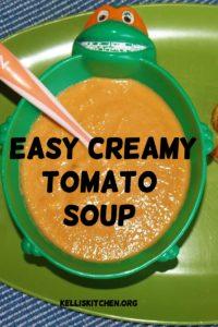 Easy Creamy Tomato Soup