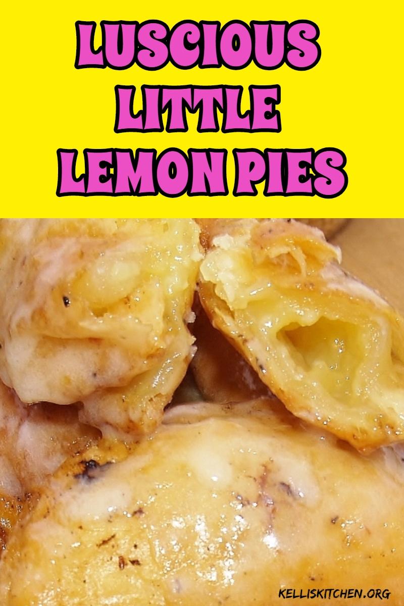 LUSCIOUS LITTLE LEMON PIES via @KitchenKelli