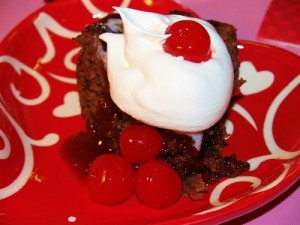 Crocked Cherry Cola Chocolate Cake