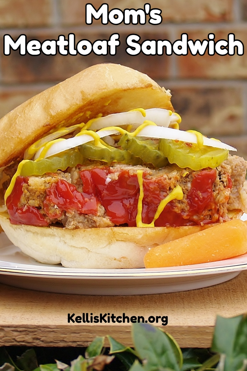 Mom's Meatloaf Sandwich via @KitchenKelli