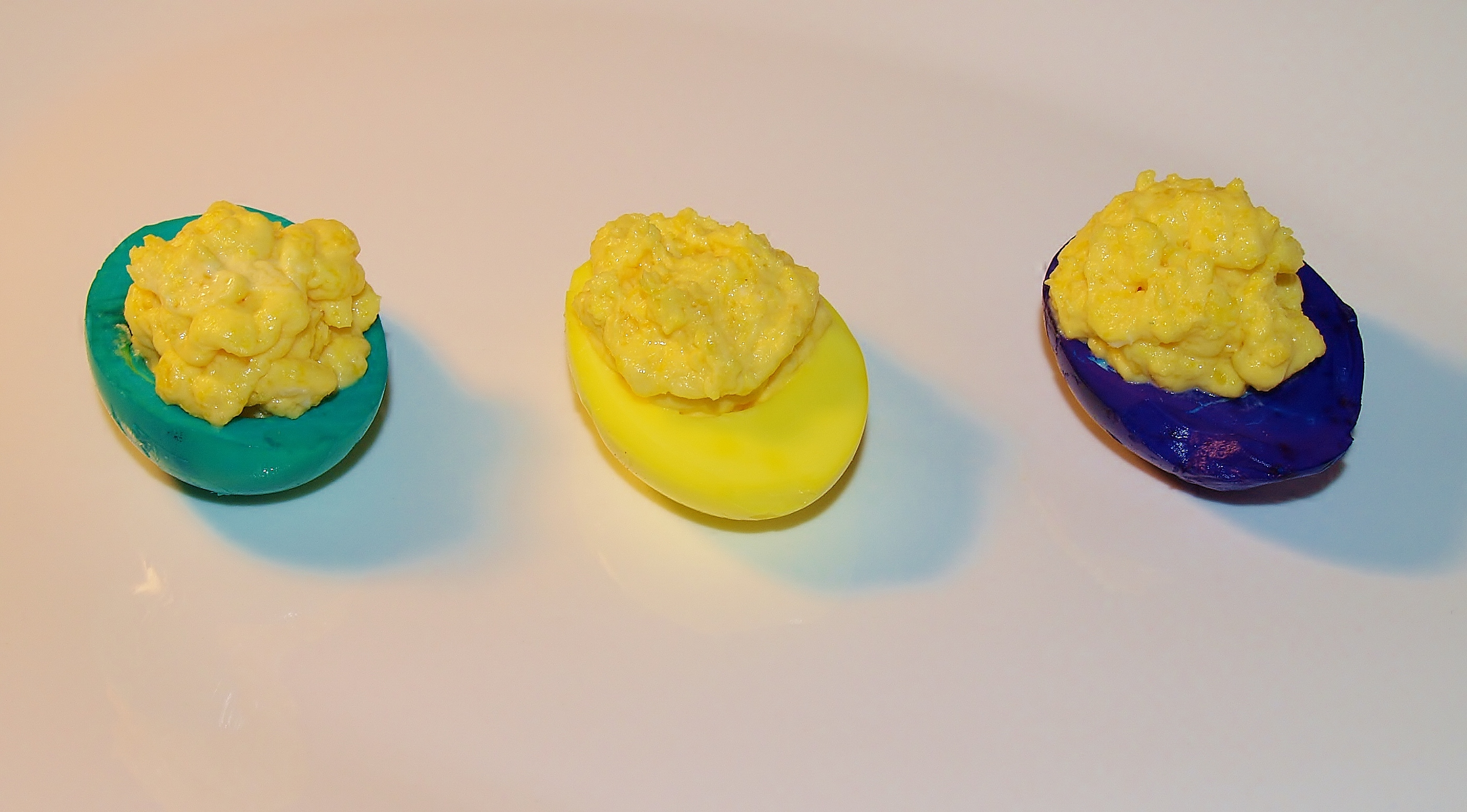Deviled Eggs with a Kick from Kelli's Kitchen