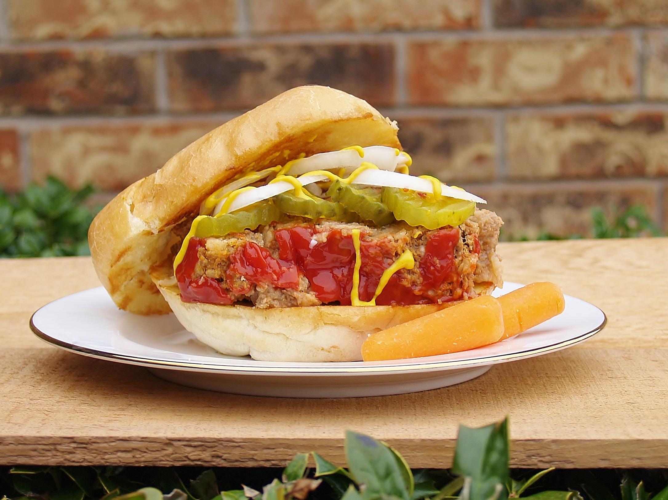 Mom's Meatloaf Sandwich