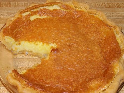 Pecan Vinegar Pie Old Fashioned