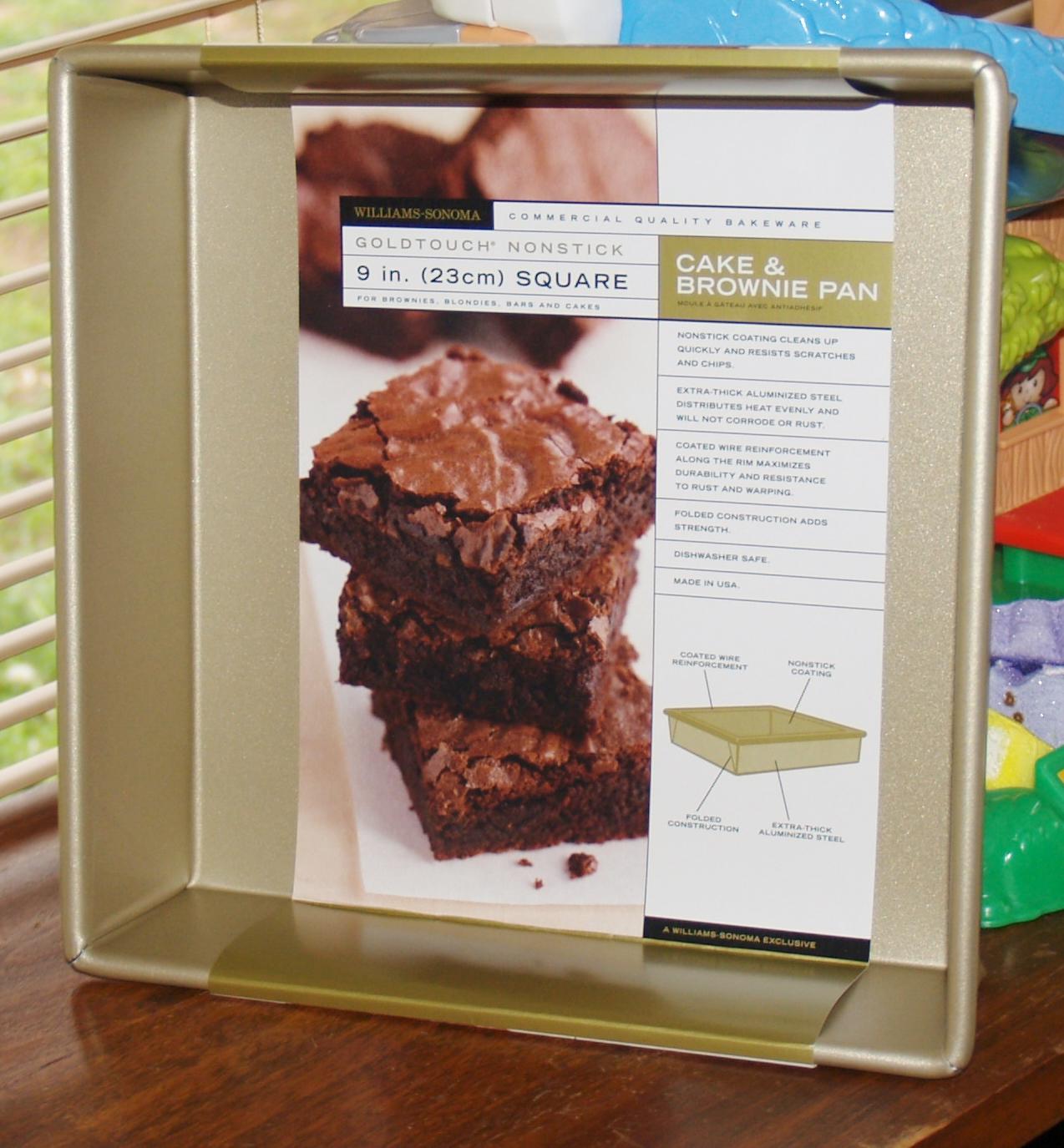 Decadent Brownie Pan Giveaway